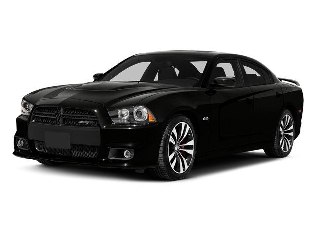 Pitch Black 2014 Dodge Charger Pictures Charger Sedan 4D SRT-8 V8 photos front view