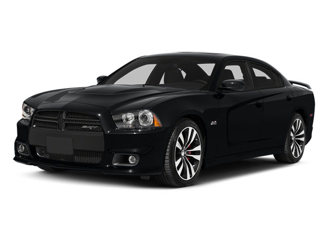 Phantom Black Tri-Coat Pearl 2014 Dodge Charger Pictures Charger Sedan 4D SRT-8 V8 photos front view