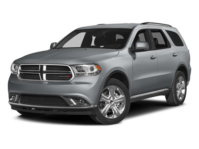 Billet Silver Metallic Clearcoat 2014 Dodge Durango Pictures Durango Utility 4D Citadel AWD V6 photos front view