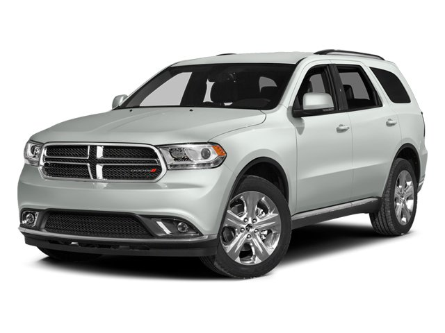Bright White Clearcoat 2014 Dodge Durango Pictures Durango Utility 4D Citadel AWD V6 photos front view