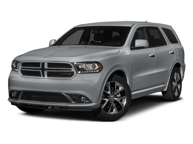 Billet Silver Metallic Clearcoat 2014 Dodge Durango Pictures Durango Utility 4D R/T AWD V8 photos front view