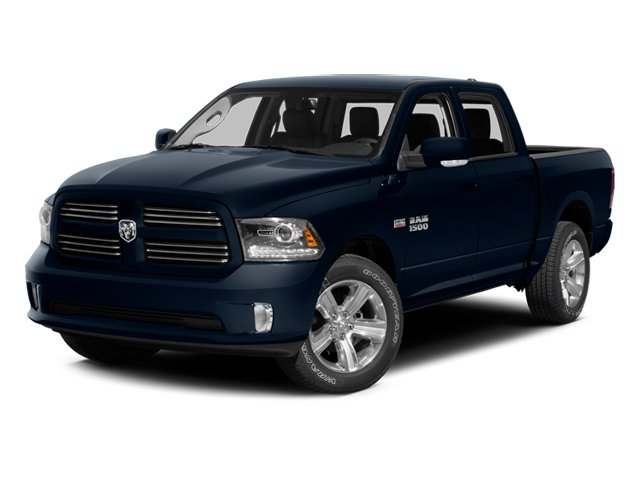 True Blue Pearlcoat 2014 Ram Truck 1500 Pictures 1500 Crew Cab Tradesman 2WD photos front view