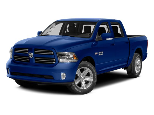 Blue Streak Pearlcoat 2014 Ram Truck 1500 Pictures 1500 Crew Cab Outdoorsman 4WD photos front view