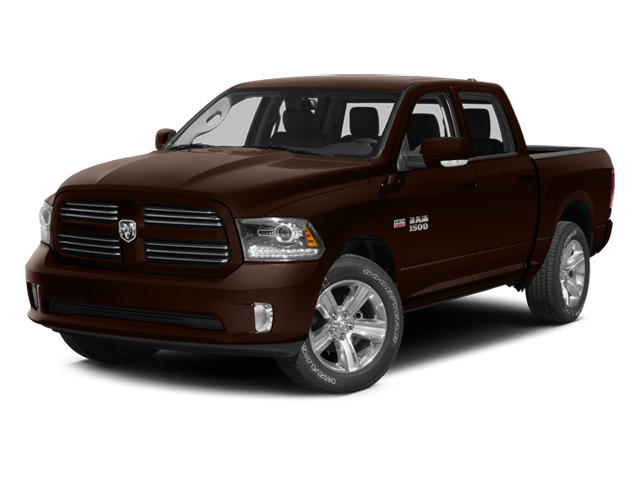 Western Brown 2014 Ram Truck 1500 Pictures 1500 Crew Cab Tradesman 2WD photos front view