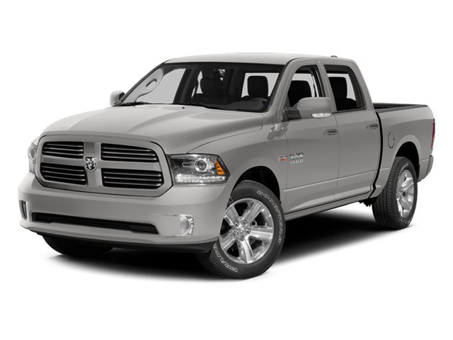 Bright Silver Metallic Clearcoat 2014 Ram Truck 1500 Pictures 1500 Crew Cab Tradesman 2WD photos front view