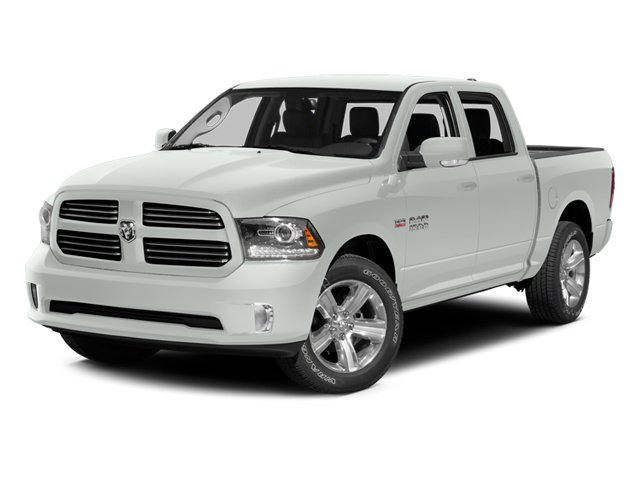 Bright White Clearcoat 2014 Ram Truck 1500 Pictures 1500 Crew Cab Tradesman 2WD photos front view