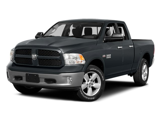 Maximum Steel Metallic Clearcoat 2014 Ram Truck 1500 Pictures 1500 Quad Cab Express 4WD photos front view