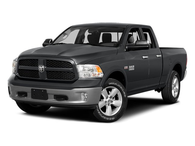Granite Crystal Metallic Clearcoat 2014 Ram Truck 1500 Pictures 1500 Quad Cab Outdoorsman 4WD photos front view