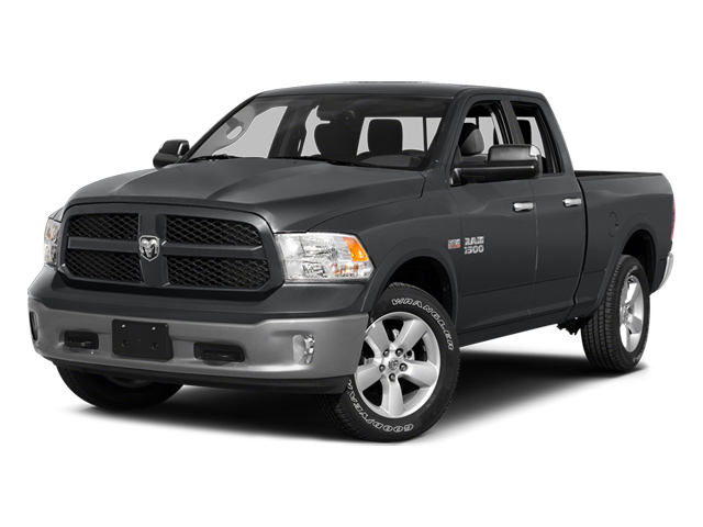 Granite Crystal Metallic Clearcoat 2014 Ram Truck 1500 Pictures 1500 Quad Cab Express 4WD photos front view