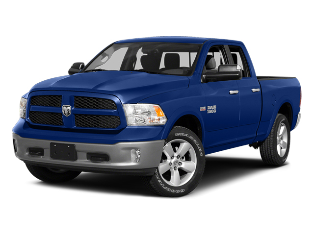 Blue Streak Pearlcoat 2014 Ram Truck 1500 Pictures 1500 Quad Cab Express 4WD photos front view