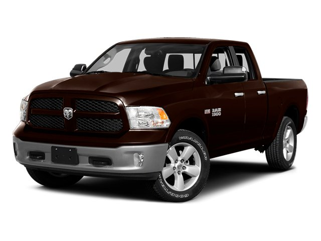 Western Brown 2014 Ram Truck 1500 Pictures 1500 Quad Cab Express 4WD photos front view