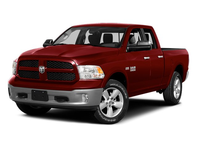 Deep Cherry Red Crystal Pearlcoat 2014 Ram Truck 1500 Pictures 1500 Quad Cab Express 4WD photos front view