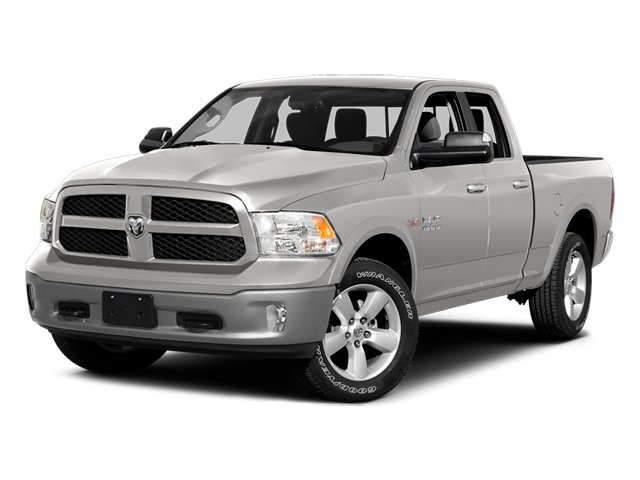 Bright Silver Metallic Clearcoat 2014 Ram Truck 1500 Pictures 1500 Quad Cab Outdoorsman 4WD photos front view