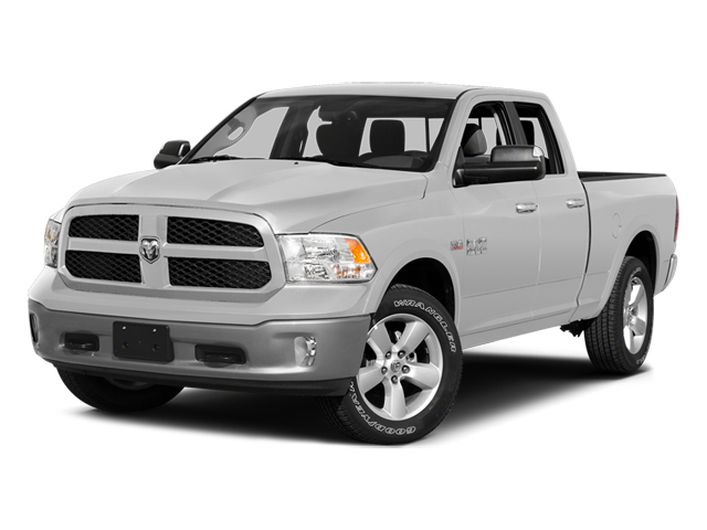 Bright White Clearcoat 2014 Ram Truck 1500 Pictures 1500 Quad Cab Outdoorsman 4WD photos front view