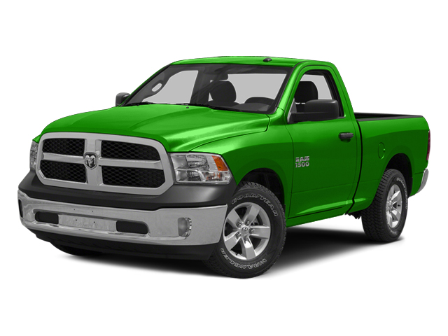 Hills Green 2014 Ram Truck 1500 Pictures 1500 Regular Cab Tradesman 4WD photos front view