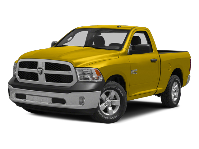 Yellow 2014 Ram Truck 1500 Pictures 1500 Regular Cab Tradesman 4WD photos front view