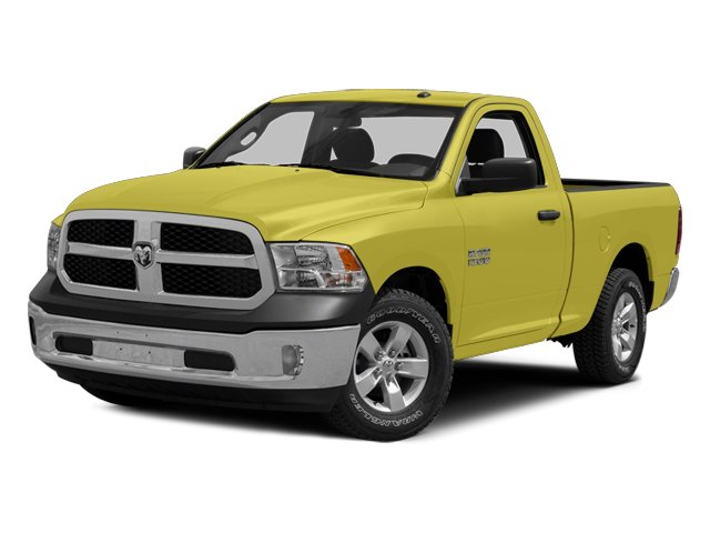 Bright Green 2014 Ram Truck 1500 Pictures 1500 Regular Cab Tradesman 4WD photos front view