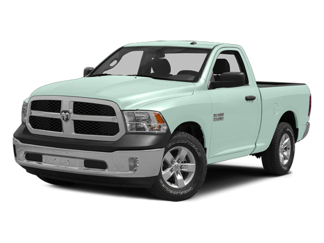 Robin Egg Blue 2014 Ram Truck 1500 Pictures 1500 Regular Cab Tradesman 4WD photos front view