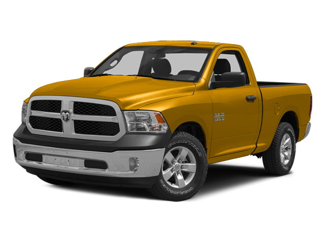 Construction Yellow 2014 Ram Truck 1500 Pictures 1500 Regular Cab Tradesman 4WD photos front view