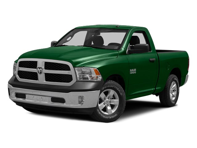 Tree Green 2014 Ram Truck 1500 Pictures 1500 Regular Cab Tradesman 4WD photos front view
