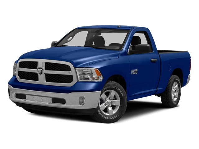 Blue Streak Pearlcoat 2014 Ram Truck 1500 Pictures 1500 Regular Cab R/T 2WD photos front view