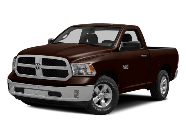 Western Brown 2014 Ram Truck 1500 Pictures 1500 Regular Cab Tradesman 4WD photos front view