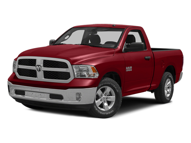 Flame Red Clearcoat 2014 Ram Truck 1500 Pictures 1500 Regular Cab R/T 2WD photos front view