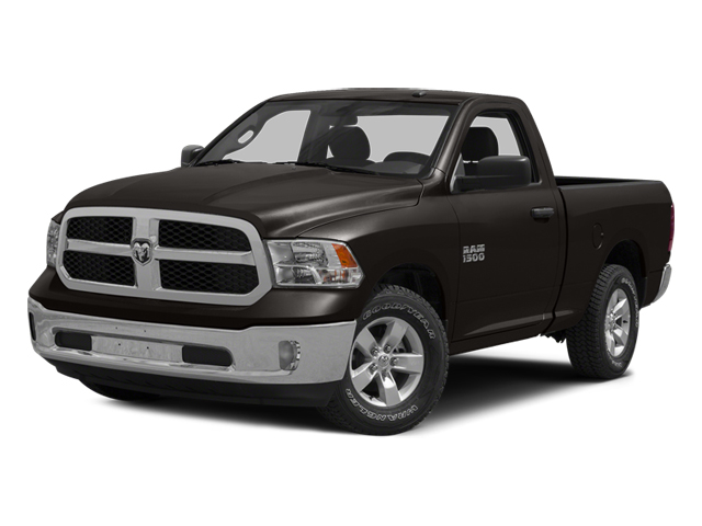 Black Clearcoat 2014 Ram Truck 1500 Pictures 1500 Regular Cab R/T 2WD photos front view