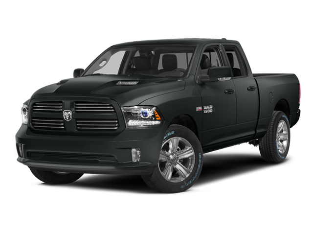 Maximum Steel Metallic Clearcoat 2014 Ram Truck 1500 Pictures 1500 Quad Cab Sport 2WD photos front view