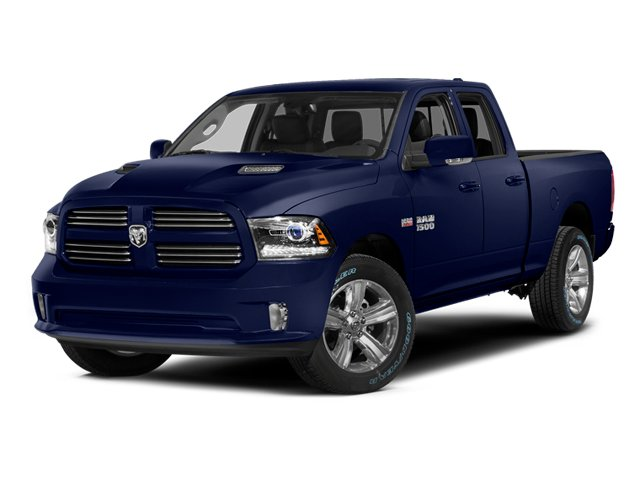 True Blue Pearlcoat 2014 Ram Truck 1500 Pictures 1500 Quad Cab Sport 2WD photos front view