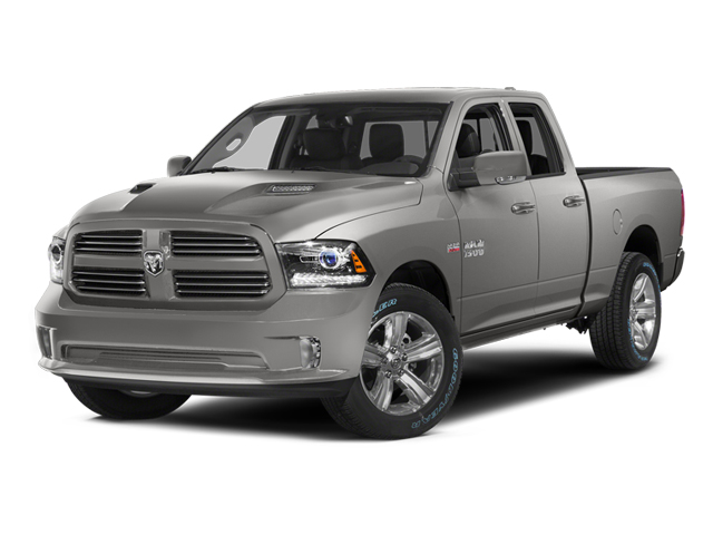 Bright Silver Metallic Clearcoat 2014 Ram Truck 1500 Pictures 1500 Quad Cab Sport 2WD photos front view