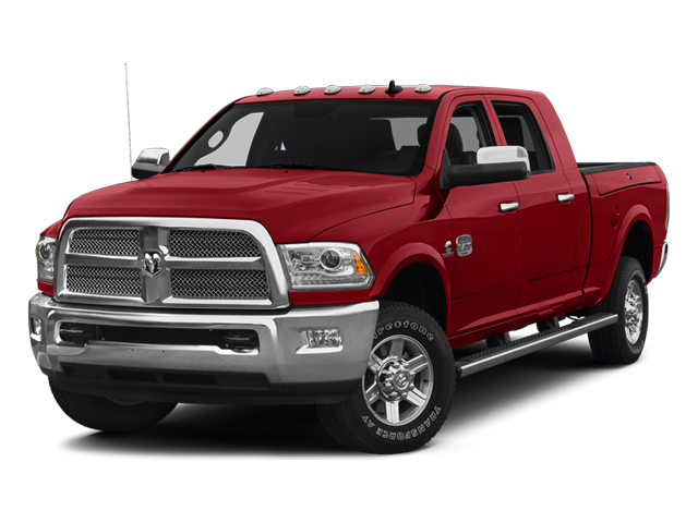 Bright Red 2014 Ram Truck 2500 Pictures 2500 Mega Cab SLT 4WD photos front view