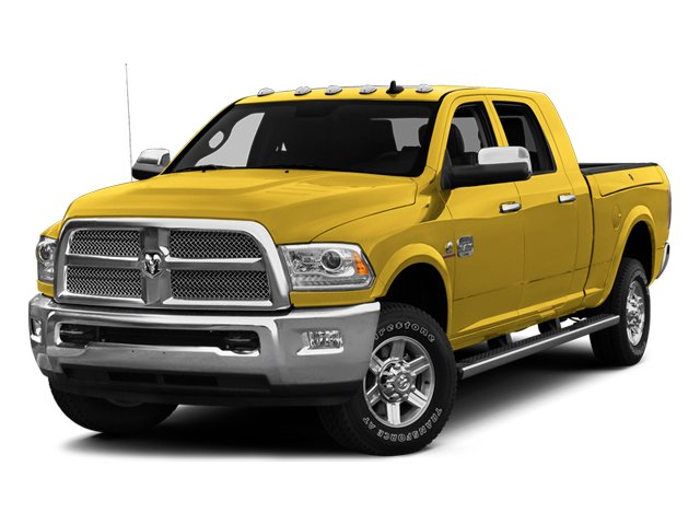 Yellow 2014 Ram Truck 2500 Pictures 2500 Mega Cab SLT 4WD photos front view