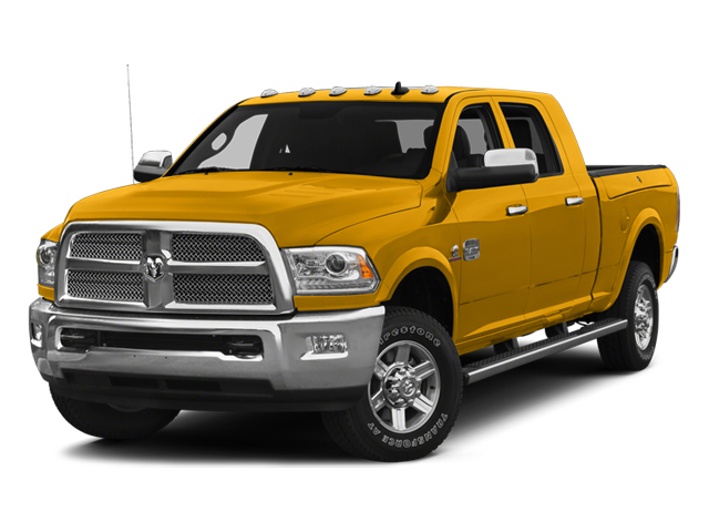 Construction Yellow 2014 Ram Truck 2500 Pictures 2500 Mega Cab SLT 4WD photos front view