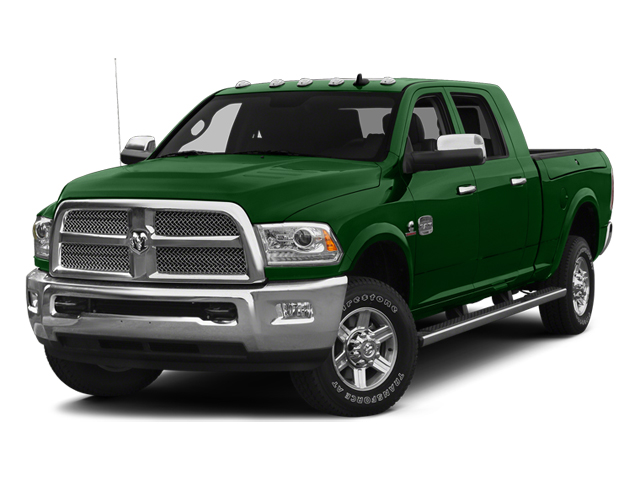 Tree Green 2014 Ram Truck 2500 Pictures 2500 Mega Cab SLT 4WD photos front view