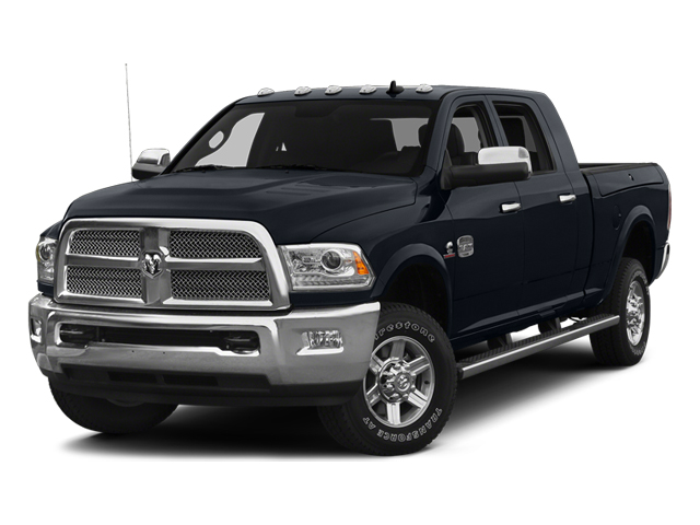 Midnight Blue Pearlcoat 2014 Ram Truck 2500 Pictures 2500 Mega Cab SLT 4WD photos front view