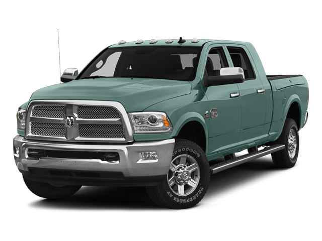 Light Green 2014 Ram Truck 2500 Pictures 2500 Mega Cab SLT 4WD photos front view