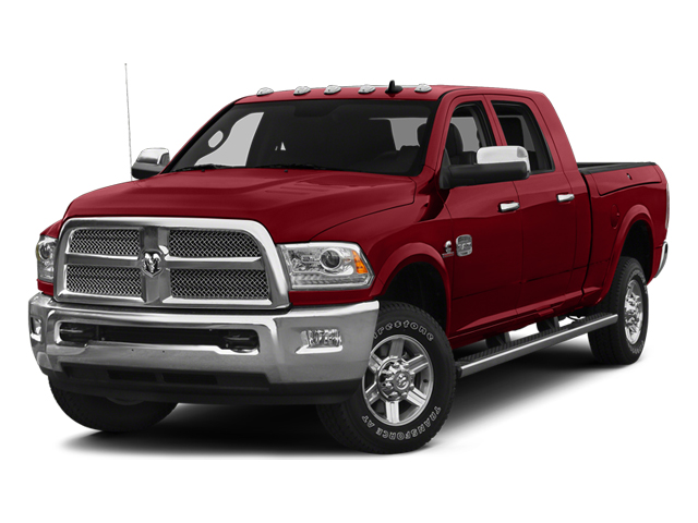 Flame Red Clearcoat 2014 Ram Truck 2500 Pictures 2500 Mega Cab Laramie 4WD photos front view