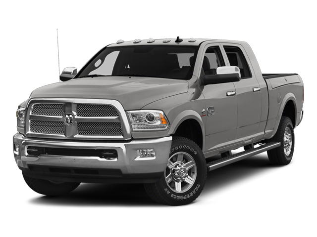 Bright Silver Metallic Clearcoat 2014 Ram Truck 2500 Pictures 2500 Mega Cab Limited 4WD photos front view
