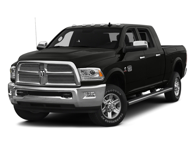 Black Clearcoat 2014 Ram Truck 2500 Pictures 2500 Mega Cab Limited 4WD photos front view