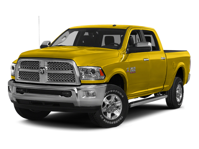 Yellow 2014 Ram 2500 Pictures 2500 Crew Cab SLT 2WD photos front view