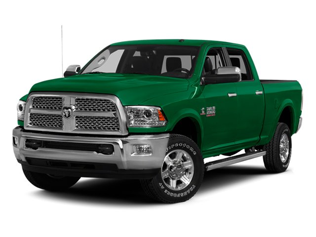Bright Green 2014 Ram 2500 Pictures 2500 Crew Cab SLT 2WD photos front view