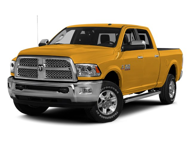 Construction Yellow 2014 Ram 2500 Pictures 2500 Crew Cab SLT 2WD photos front view