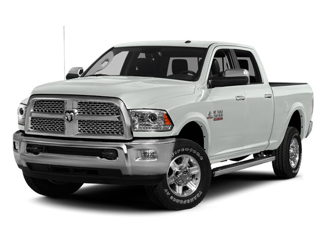 Bright White Clearcoat 2014 Ram Truck 2500 Pictures 2500 Crew Cab Longhorn 2WD photos front view