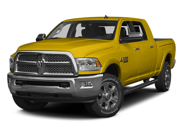 Yellow 2014 Ram Truck 3500 Pictures 3500 Mega Cab SLT 2WD photos front view