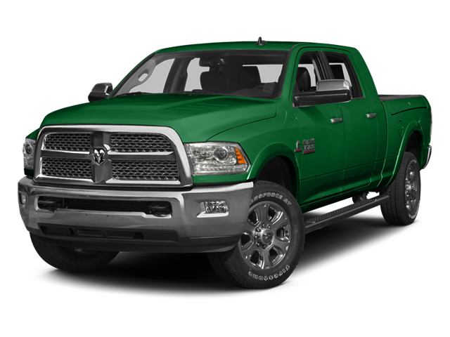 Bright Green 2014 Ram Truck 3500 Pictures 3500 Mega Cab SLT 2WD photos front view