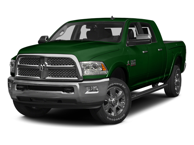 Tree Green 2014 Ram Truck 3500 Pictures 3500 Mega Cab SLT 2WD photos front view