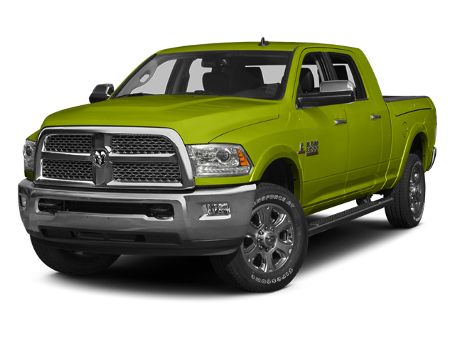 National Safety Yellow 2014 Ram Truck 3500 Pictures 3500 Mega Cab SLT 2WD photos front view