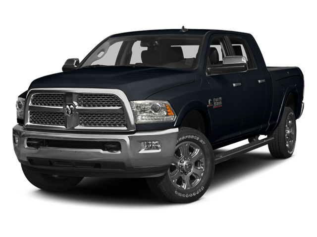 Midnight Blue Pearlcoat 2014 Ram Truck 3500 Pictures 3500 Mega Cab SLT 2WD photos front view