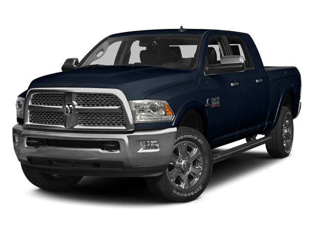 True Blue Pearlcoat 2014 Ram Truck 3500 Pictures 3500 Mega Cab Limited 2WD photos front view